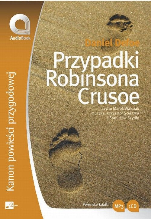 Przypadki Robinsona Crusoe - Daniel Defoe - audiobook