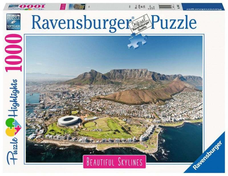 Puzzle 1000 elementów Cape Town (GXP-761192)