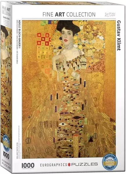 Puzzle 1000 Adele Bloch-Bauer - Eurographics