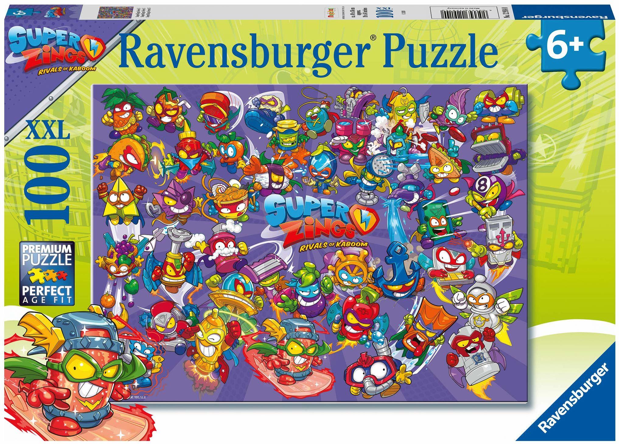 Ravensburger - Puzzle 100 części XXL (12914)