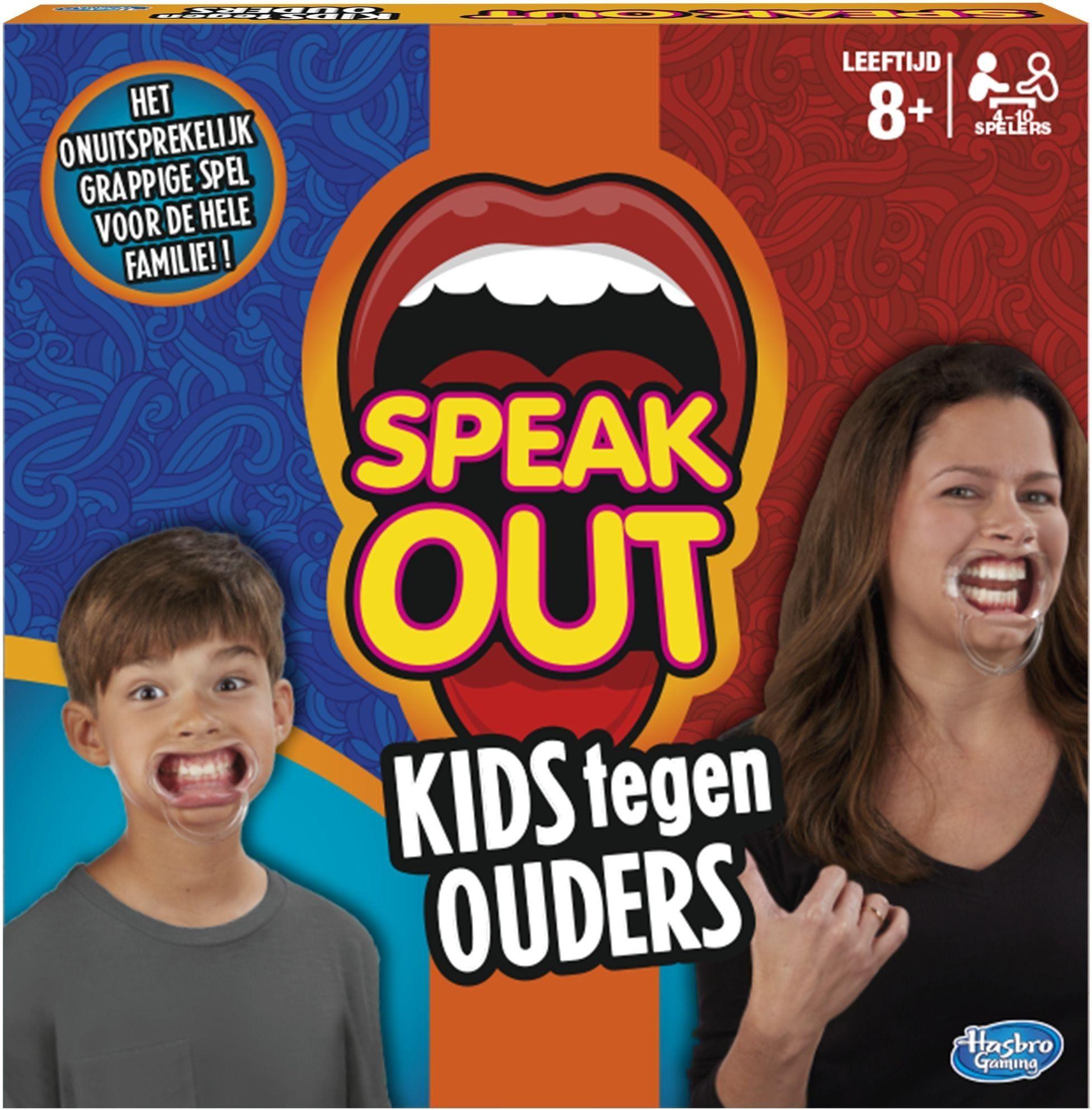 Hasbro C3145104 Speak out: dzieci przeciwko rodzicom, zabawa