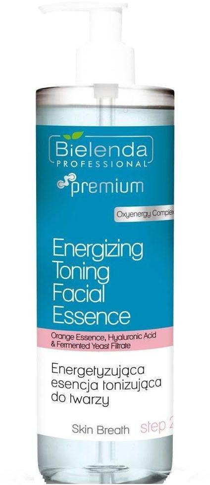Bielenda Skin Breath Energetyzująca esencja tonizująca do twarzy tonik 500ml