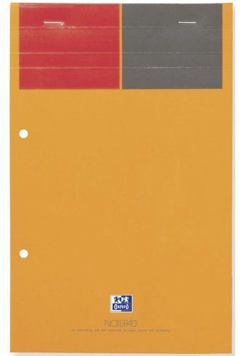 Notatnik biurowy OXFORD NOTEPAD A4+ / 80k linia żółte kartki 001103