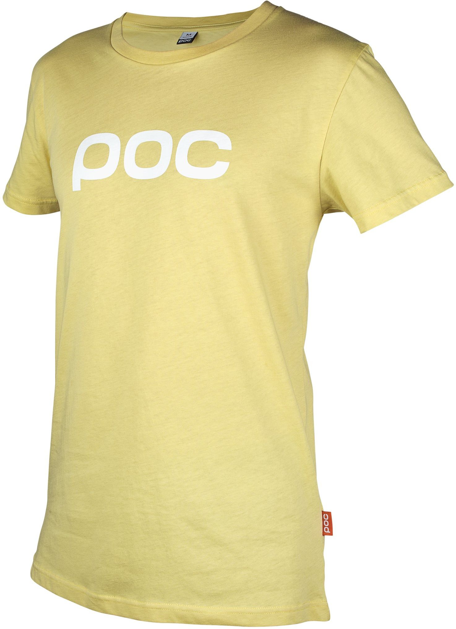 POC Męska koszulka kolarska z kręgosłupem żółta żelazna żółta rozmiar: S