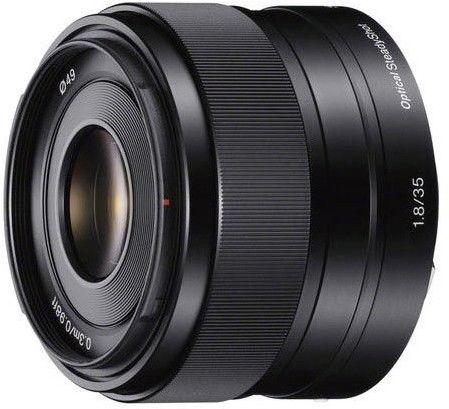Sony E 35mm f1.8 OSS (SEL35F18) Czarny