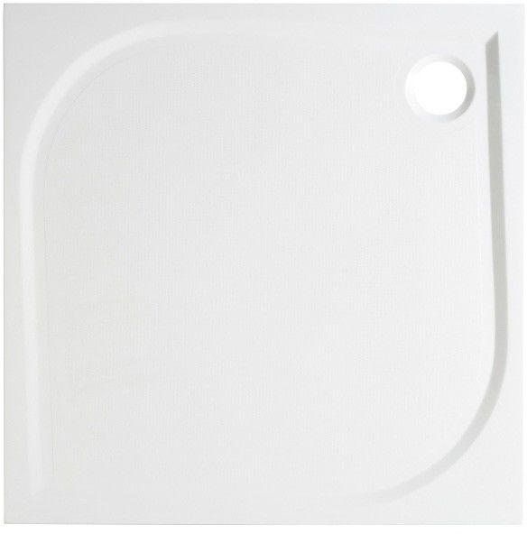 Brodzik konglomeratowy kwadratowy GoodHome Limski 70 x 70 cm