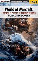 World of Warcraft: Warlords of Draenor - Patryk Greniuk Tyon - ebook
