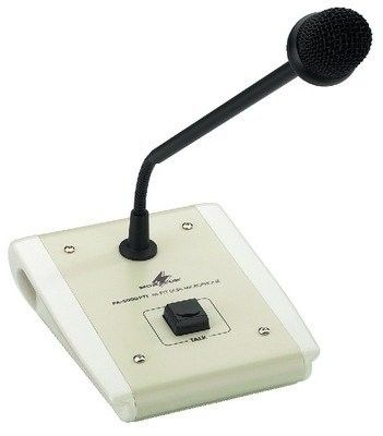 Monacor PA-5000PTT, mikrofon pulpitowy pa (push-to-talk)