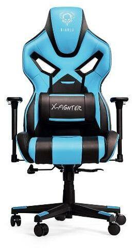 Diablo Chairs X-Fighter (niebieski) - Kup na Raty - RRSO 0%