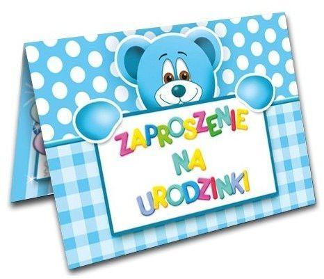 Zaproszenie na Urodziny dla chłopca 1 sztuka ZX6300