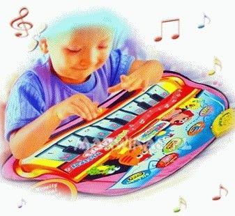 Muzyczna mata edukacyjna-pianinko