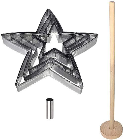 Lily Cook Gwiazda choinkowa, metal, wielokolorowa, rozmiar uniwersalny