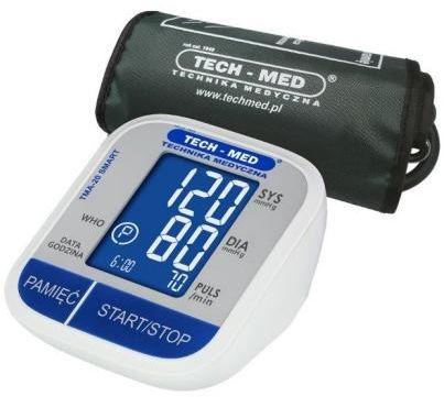 Tech-Med TMA-20 SMART ciśnieniomierz elektroniczny naramienny 1 sztuka