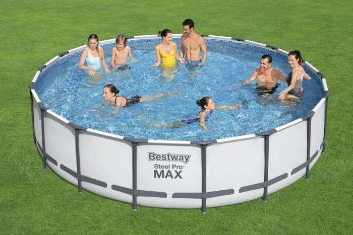 Bestway Basen stelażowy Steel Pro MAX 549x122cm 56462