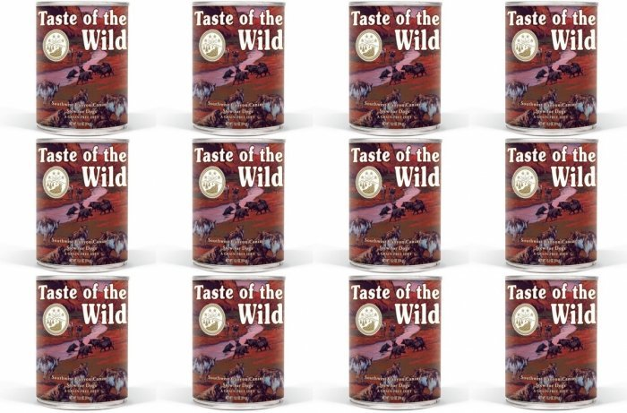Taste of the Wild Southwest Canyon - mokra karma dla psów 12x390g