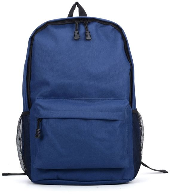Niebieski plecak nylonowy A4 Nomad