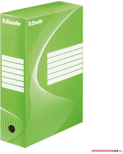 Pudełka archiwizacyjne ESSELTE BOXY 100mm zielone 128424