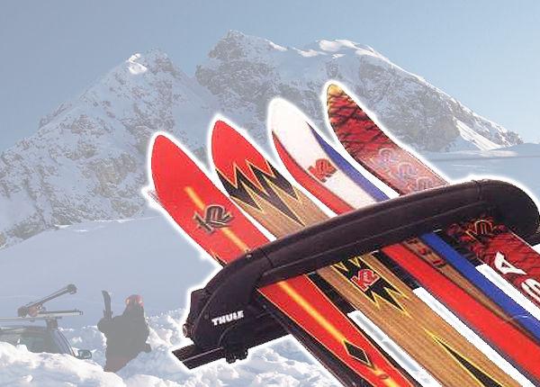 Thule Snowpro uchwyt narciarski 4 pary nart 746