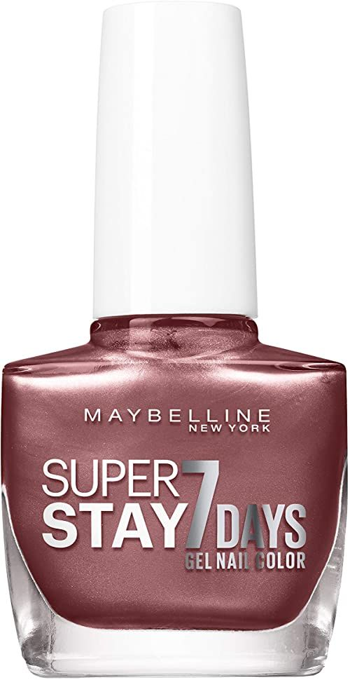 Maybelline New York Super Stay 7 Days lakier do paznokci Rooftop Shade 912 3-pak (3 x 10 ml)