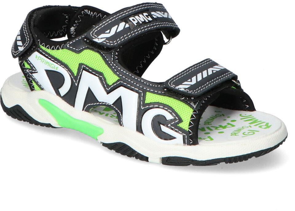 Sandały Primigi 7460822 Czarne/Zielone