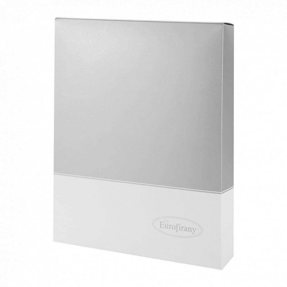Pudełko prezentowe Silver 40x30x7 srebne białe ozdobne Eurofirany