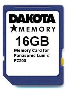 Karta pamięci 16 GB do Panasonic Lumix FZ200
