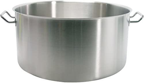Pardini Albergo Rondel średni z 2 uchwytami, stal nierdzewna, srebro, 28 cm