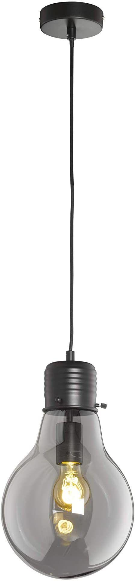 Fischer&Honsel Louis lampa wisząca, metal, 40 W, czarna