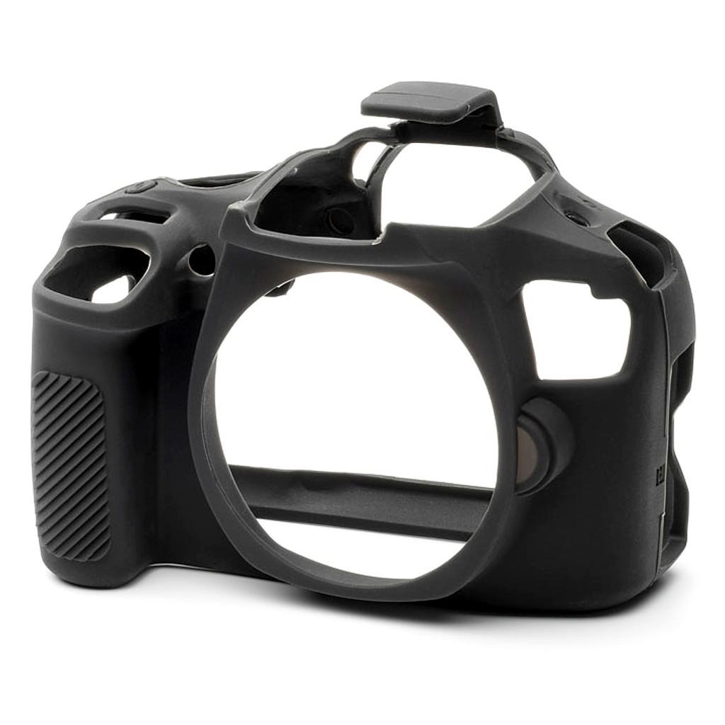 Osłona silikonowa easyCover do aparatów Canon EOS 4000D/ T100 czarna