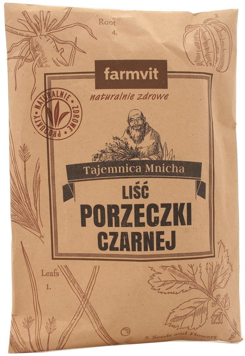 Liść porzeczki czarnej - Farmvit - 50g