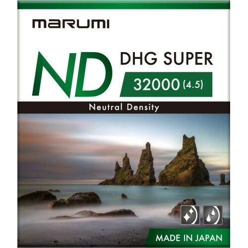 MARUMI Super DHG ND32000 Filtr fotograficzny szary 67mm