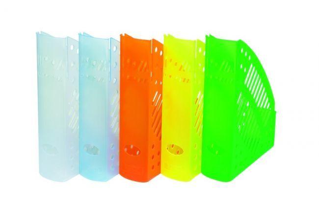 Pojemnik na dokumenty w transparentnych kolorach DONAU
