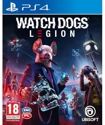 Gra PS4 Watch Dogs Legion. > DARMOWA DOSTAWA ODBIÓR W 29 MIN DOGODNE RATY