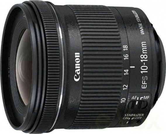 Canon EF-S 10-18mm f/4.5-5.6 IS STM Czarny