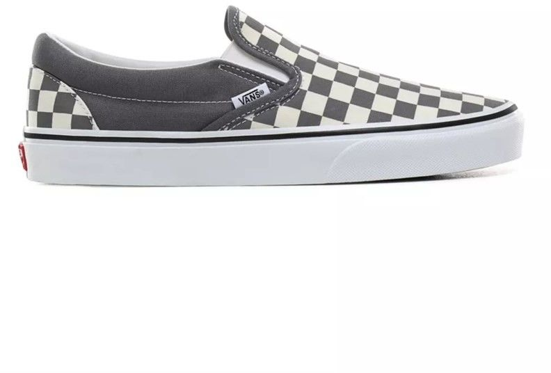 buty VANS - Classic Slip-On (Checkerboard)Pewtertrwht (TB5)