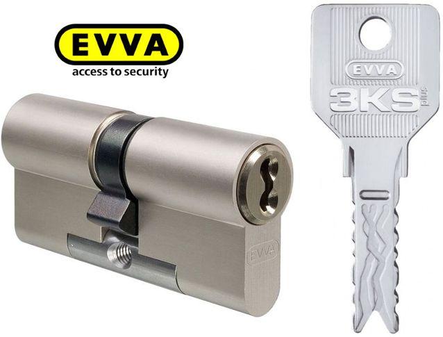Wkładka atestowana modułowa EVVA 3KSplus 31/31 z prawnie chronionym kluczem