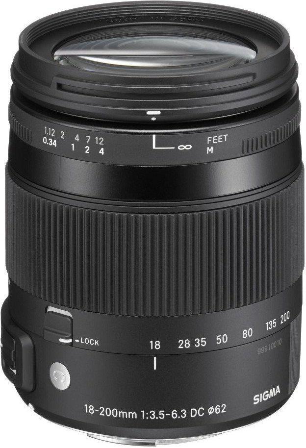 Sigma 18-200mm F3.5-6.3 DG MACRO OS HSM Contemporary ( Nikon )