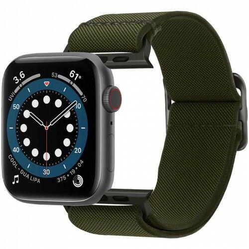 Pasek Spigen Lite Fit Apple Watch 44mm SE/6/5/4 / 42mm 3/2/1, oliwkowy