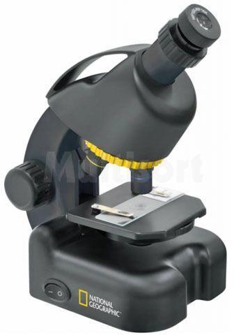 Mikroskop 40x-640x National Geographic z fotoadapterem do smartfonów