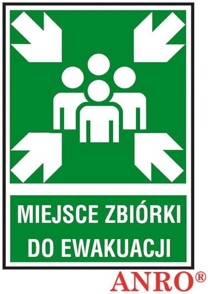 Znak Miejsce Zbiórki Ewakuacyjnej Z-18E-PT-150x205