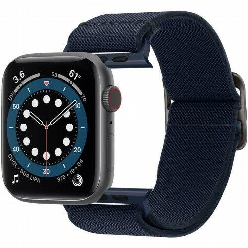 Pasek Spigen Lite Fit Apple Watch 44mm SE/6/5/4 / 42mm 3/2/1, granatowy