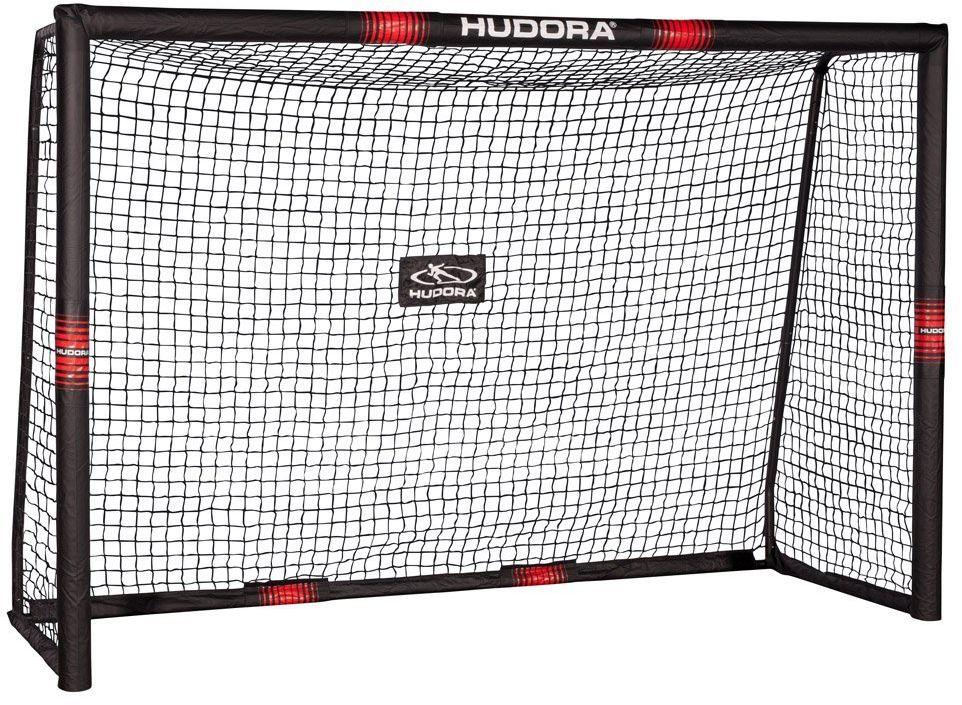 Bramka piłkarska HUDORA Pro Tect 240 cm x 160 cm x 85 cm