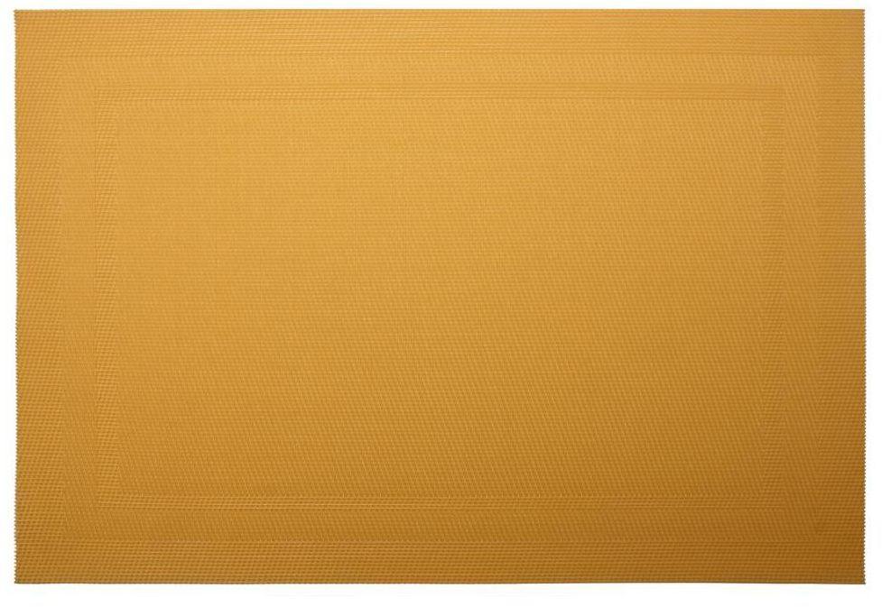 Podkładka na stół Pad prostokątna 43 x 28 cm żółta