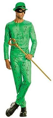 Rubie''s 887104 oficjalny kostium The Riddler Batman Villain, dla dorosłych, XL