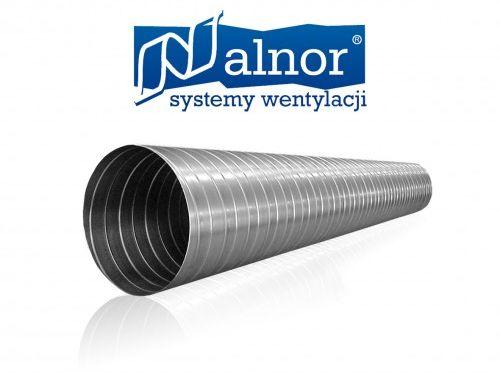 Kanał SPIRO, przewód, rura wentylacyjna z blachy 0,4mm (3mb) 160mm (SPR-C-160-040-0300)