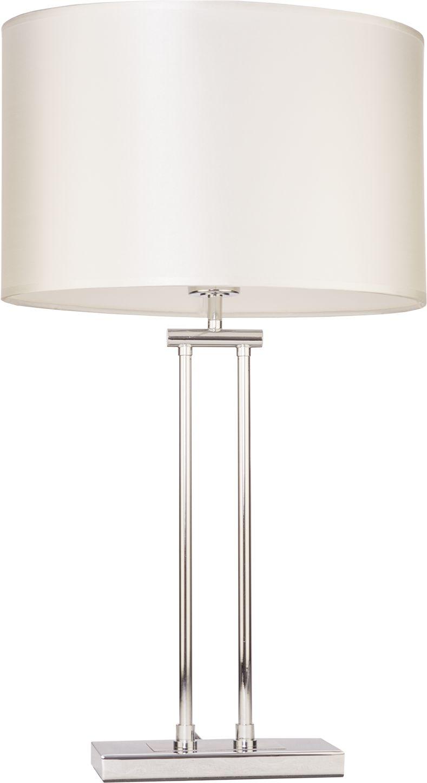 Lampa stołowa Athens T01444WH CR COSMOLight biała oprawa w stylu nowoczesnym