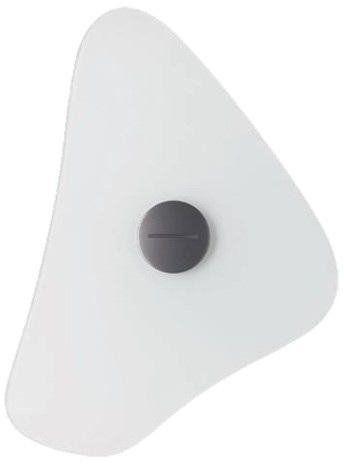 Bit 34x30 biały - Foscarini - lampa ścienna