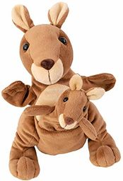 Beleduc 40450  lalka dla matki i dziecka Kanga & Juju, sprawdzona w przedszkolu