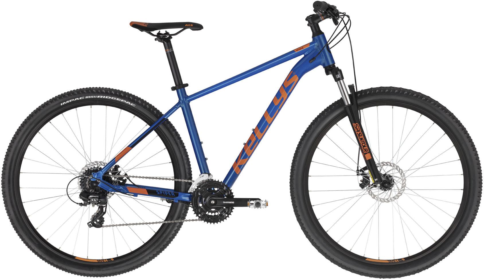 """Rower Kellys SPIDER 30 BLUE 29"""" 2021"""