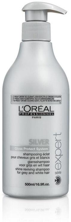 Loreal Expert Silver szampon do siwych włosów 500ml